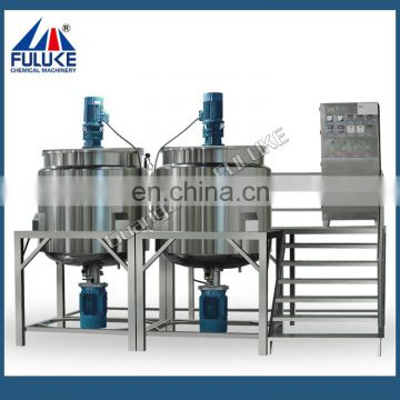 FLK cream maker machine korean cosmetics mixing tank factory price cream production machine