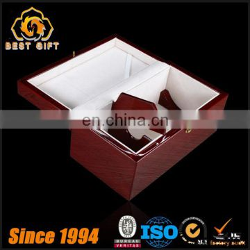 TOP SUPPLIER Luxury High Gloss Wood Wine Box