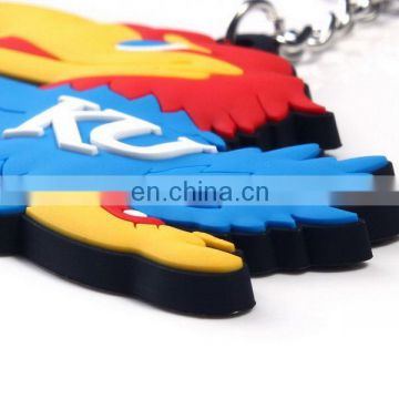 offer new style silicone luxury car keychain