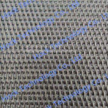 High strength PP woven geotextile