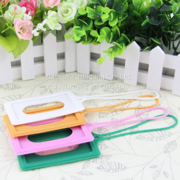 Hot Selling Soft Silicone Rubber Luggage Tag for Travelling
