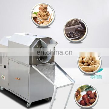 top quality stainless steel black sesame or white sesame roaster machine sesame roster in processing line