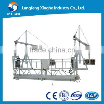 Aluminum alloy cradle platform export to United Arab Emirates / suspended working platform / gondola
