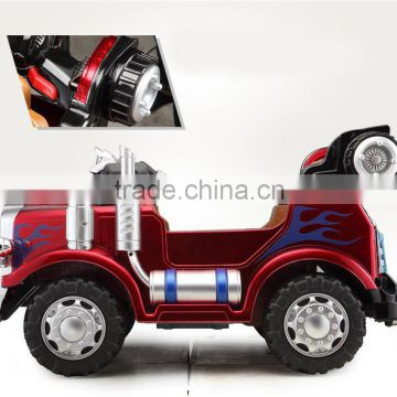 Christmas gift High quality kids ride on car with 12V battery JJ215