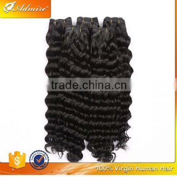 Natural Black Deep Wave Cheap Raw Virgin Indian Hair for Black Women