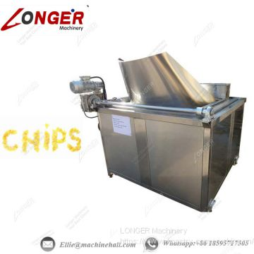 Potato Chips Frying Machine Manufacture
