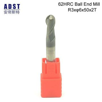 62HRC End Mill Carbide Ball  End Mill CNC Cutting Tool Tool Holder Milling Cutter Cutting Tools