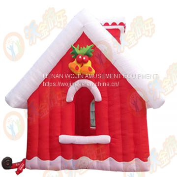 Inflatable Christmas house for party and family/ Christmas castle price