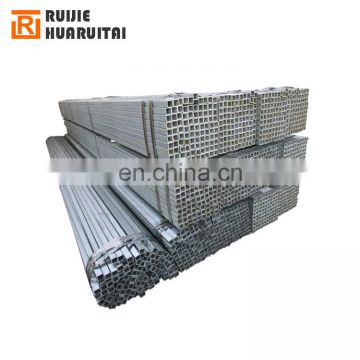 Square pre galvanized steel pipe from tianjin