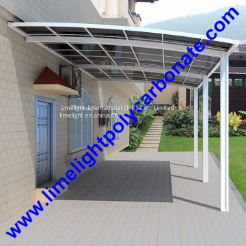 aluminium patio shed garage carport polycarbonate carport aluminium carport pc carport