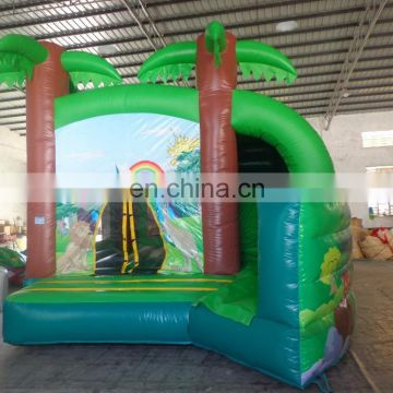 commercial grade customized Inflatable forest Combo,forest combo bouncer, inflatable catsle