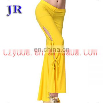 Wholesale cheap long crystal women belly dance pants K-4024