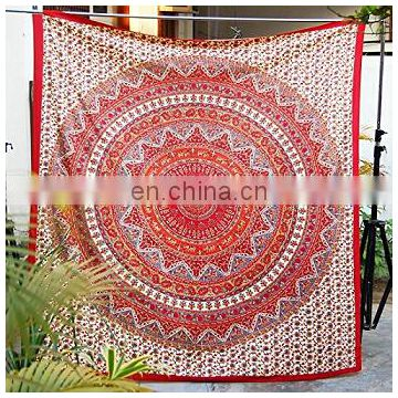 Cotton Mandala Indian Tapestry Wall Hanging Throw,Beach Throw