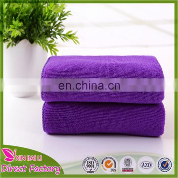 Factory Direct Wholesale Custom Microfiber 100% Polyester Towel