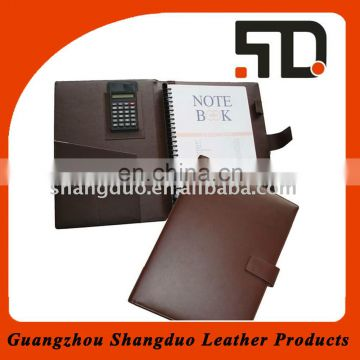 Officer Popular Conference Folder Handamde Leather File Folder