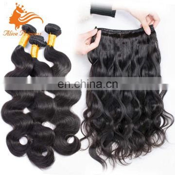 Unprocessed Malaysian Hair Weave 7A Grade Body Wave Long Natural Human Hair Bundles On Sale