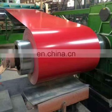 Shandong color coated ppgi filmed prepainted galvanized steel coil