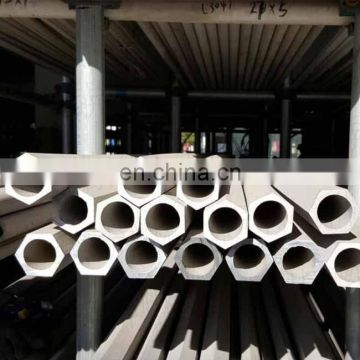 Professional 316 stainless steel hexagonal pipe