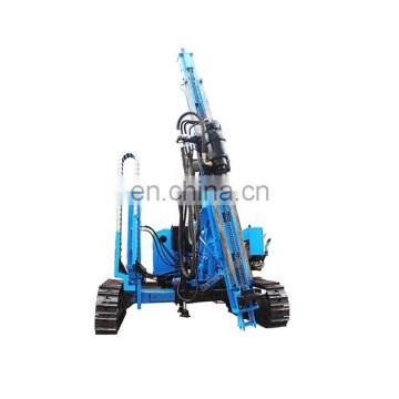 mall pile driving machine hydraulic bore pile fence post pile driver