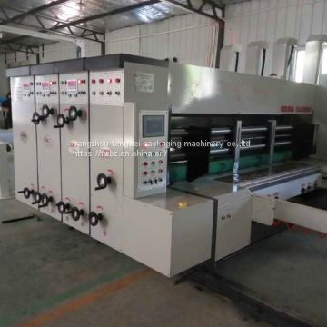 guangzhouCarton packing equipment  Automatic printing slotting die- cutting machine