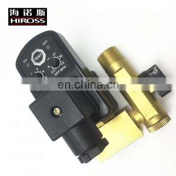 "For Compressed Air Filter 1/2"" auto drain solenoid valve with timer"