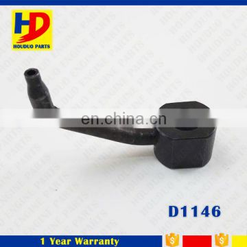 Excavator Engine Spare Parts Wholesale Diesel Engine Parts D1146 Oil Nozzle