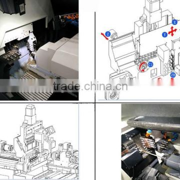 VMC850 vertical CNC machining center 5 axis machine center CNC machining center