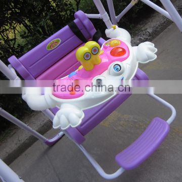 ... Hot folded plastic outdoor indoor toy---baby swing kids swing with music canopy : canopy baby swing - memphite.com