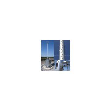 Telecom monopole tower