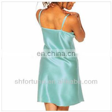 lady sexy silk nightdress shanghai