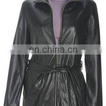 Ladies Leather Coat Art No: 1383