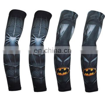 2017 New design polyester arm sleeves UV protection quick drying breathable sportswear