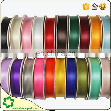 SHECAN Customized color and size gift satin ribbon