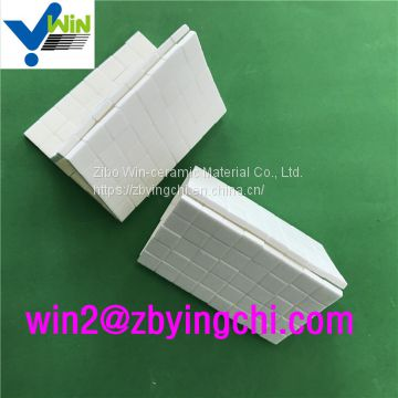 92% Mosaic sheet price ceramic alumina mosaic tile