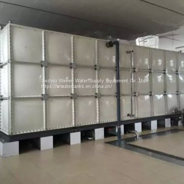 SMC GRP FRP water storage tanks  SMC sectional panel water tank