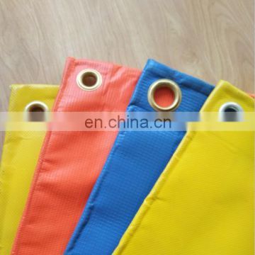 Laminated PVC Vinyl Roll Fire Retardant Tarpaulin Low Price