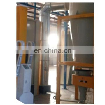 Automatic powder coating booth for aluminium profiles 30