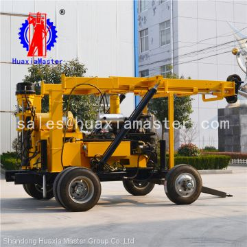 large tricycle tractor drilling machine,water well drilling machine from huaxiamaster for sale