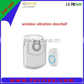 Wireless sensor doorbell, vibration doorbell for the deaf and old people