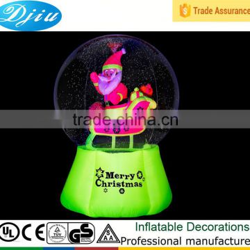 DJ-B-112 outdoor decoration merry christmas inflatable bubble ball person inside