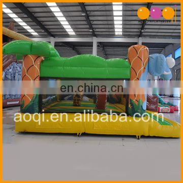 playground equipment guangzhou animal small inflatable bouncers jumping bed for toddlers