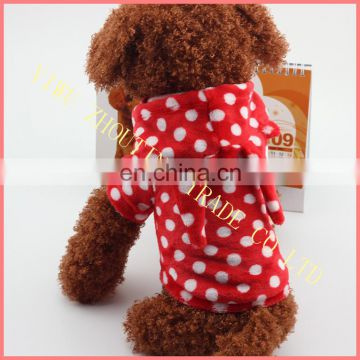 Wholesale dog clothes, hot sale pet winter hoodies clothing , dog pet clothes