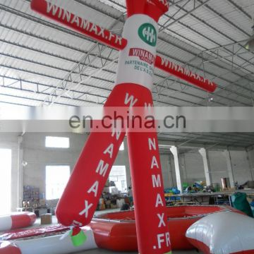 2 legs inflatable air dancer for promotion activies