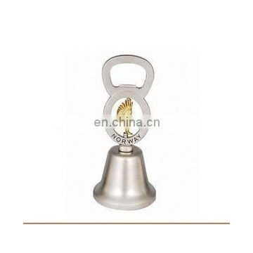 Top quality personalized tourist Norway souvenirs antique bronze hand dinner bell