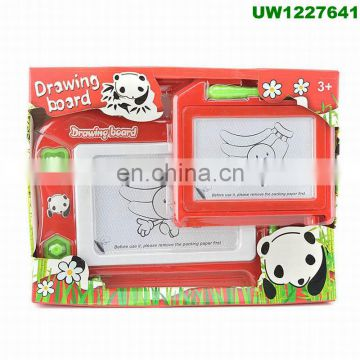 Magnetic Drawing Board Educational Toy - 2 Pieces Erasable Doodle Sketch Writing Board for Toddler Step by Step Learn and Write