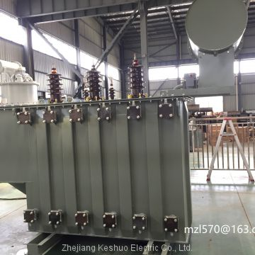 5500kva Oil immersed transformer (up to 136kv, 180MVA) of