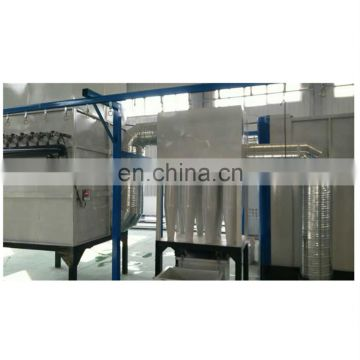 Automatic powder coating production line machine for aluminum window and door