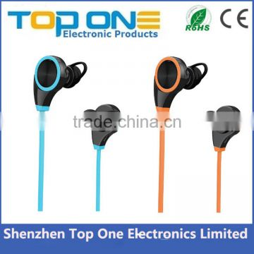 TOP ONE In ear waterproof portable outdoor multipoint stereo bluetooth headset