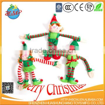plush elf toy elf on shelf christmas elf