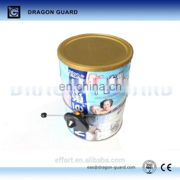 EAS Security Alarm Round Milk Can Tag with Chain MS001